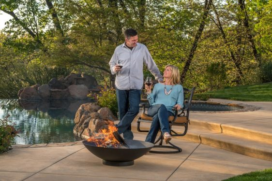 Solid Fire Bowl