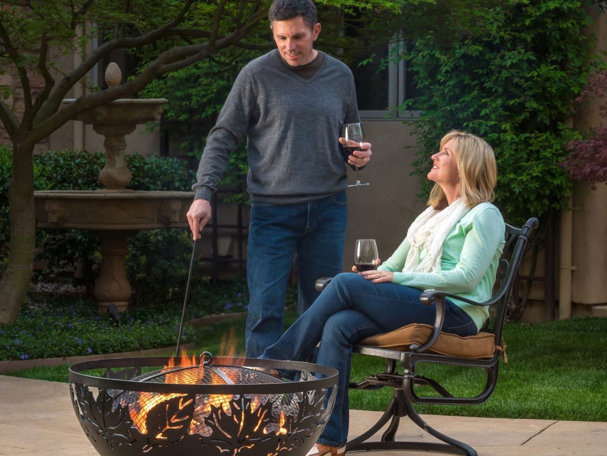 """36"""" Autumn Leaves - Fire Bowls 