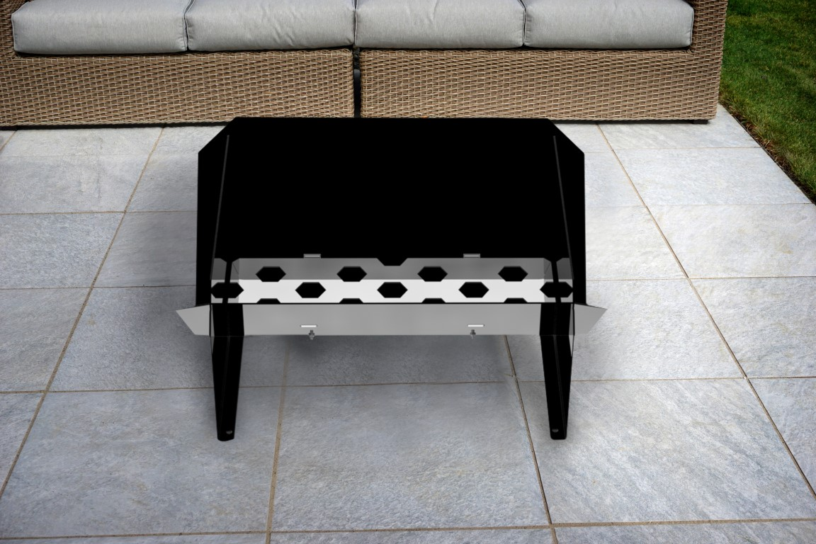 Trend Firepit & Grill Combo